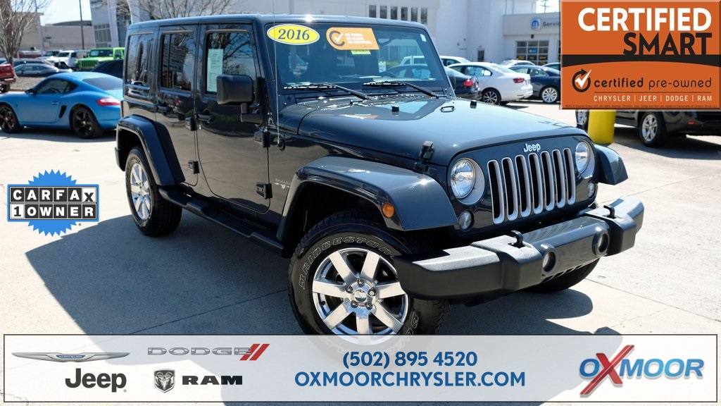Pre Owned 2016 Jeep Wrangler Unlimited Sahara
