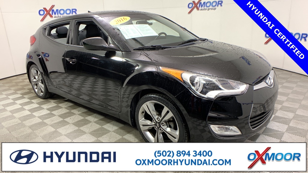 Hyundai Of Louisville >> Pre Owned 2016 Hyundai Veloster 3d Hatchback In Louisville Hu5301
